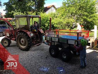 ATV Prikolica Profi-delavec in kompakten traktor
