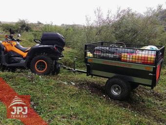 ATV prikolica vrtnar za quad
