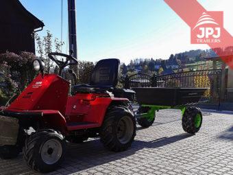 prikolica za ATV in vrt traktorja