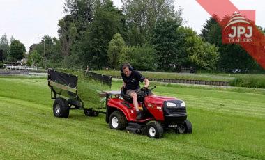 prikolica za vrtni traktor